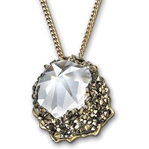 Swarovski  Poison Metallic Light Gold Pendant